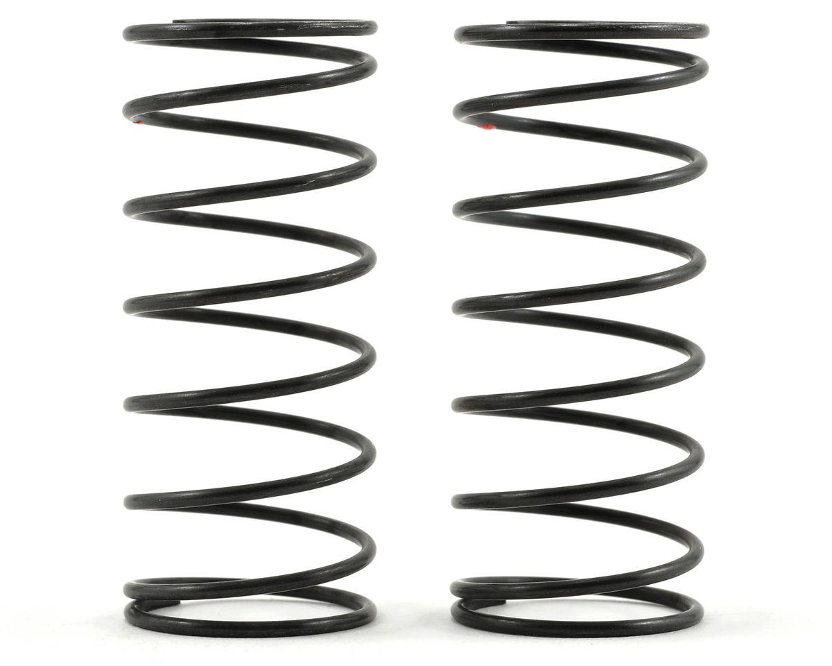 Big Bore Front Shock Spring Set (Red/Hard) (2) by Kyosho