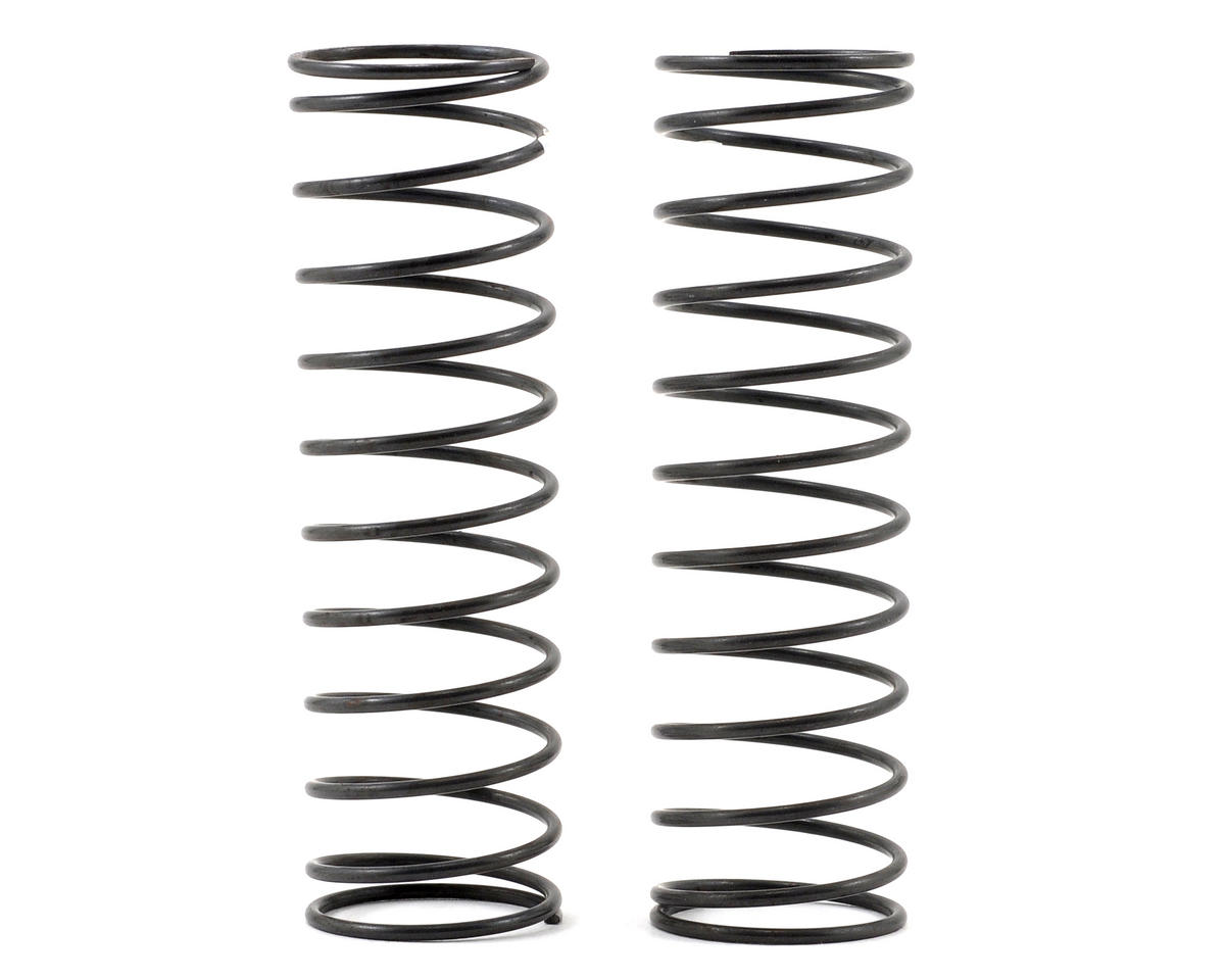 Big Bore Rear Shock Spring (White/Medium Soft) (2) by Kyosho
