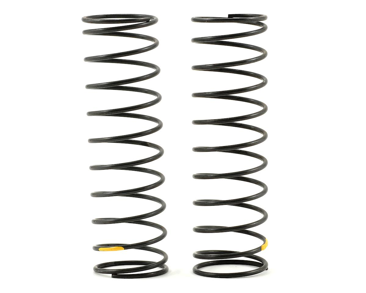 Big Bore Rear Shock Spring Set (Yellow/Hard) (2) by Kyosho