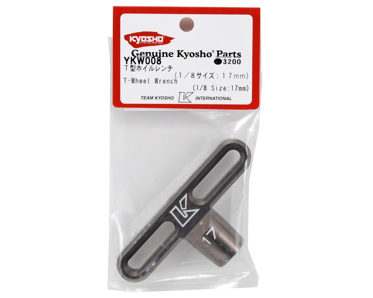 Kyosho Kanai Tools 17mm Off-Road T-Handle Wheel Wrench