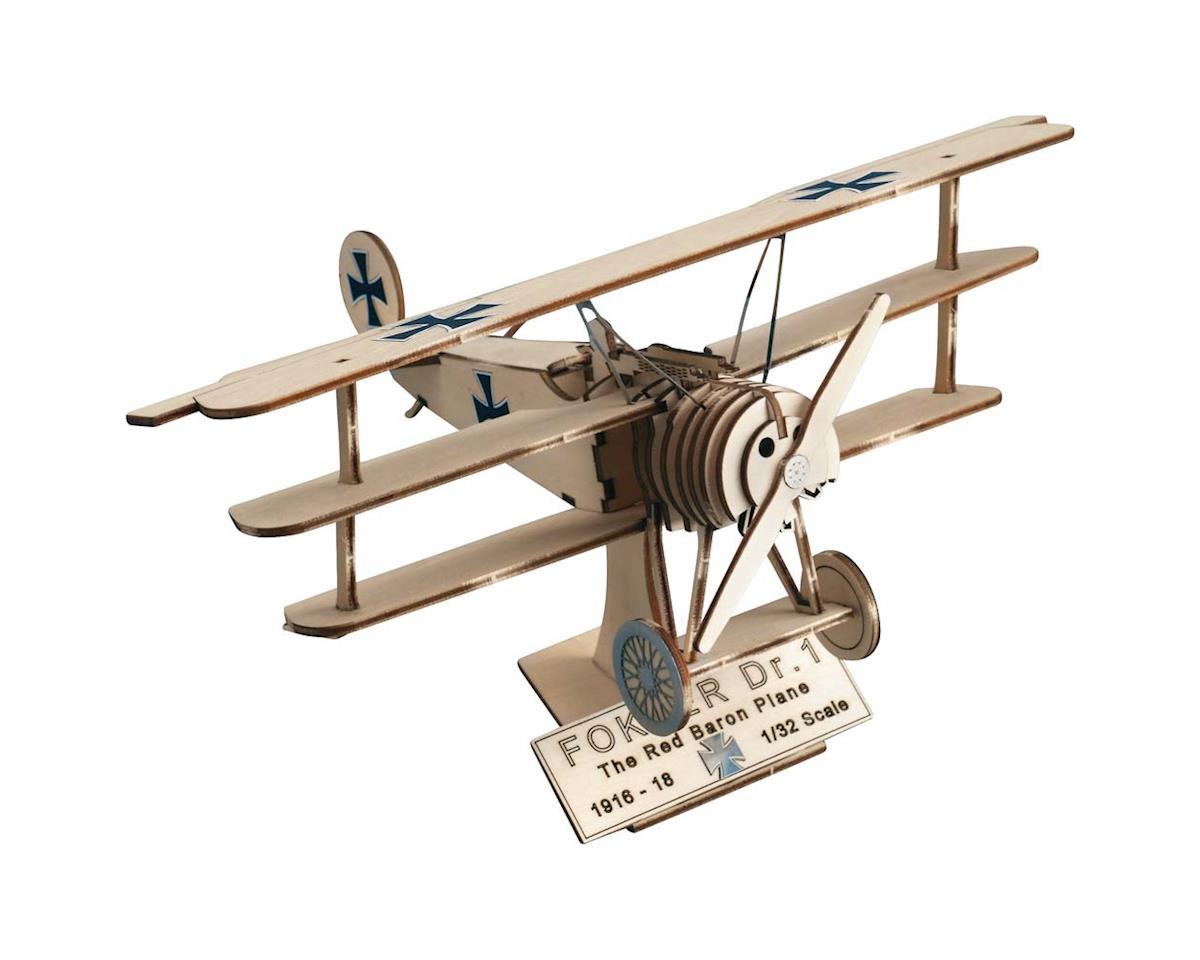 Latina 1/32 Fokker DR.I The Red Baron Plane