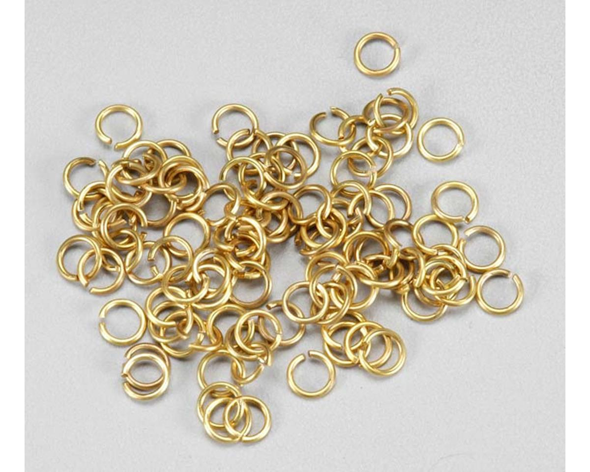 Latina 8619 Brass Rings 4mm (100)
