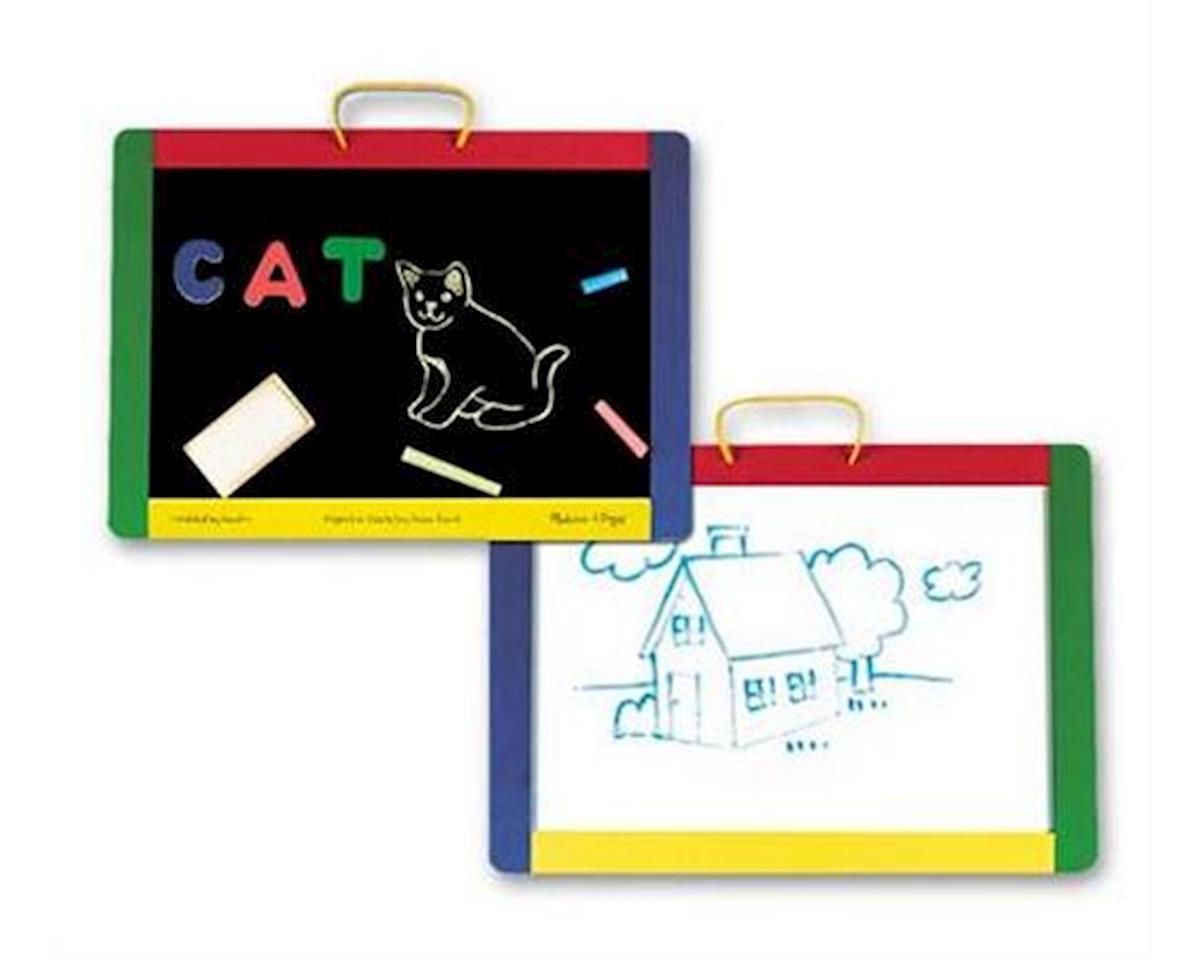 Melissa & Doug  Magnetic Chalk/Dry Erase Board