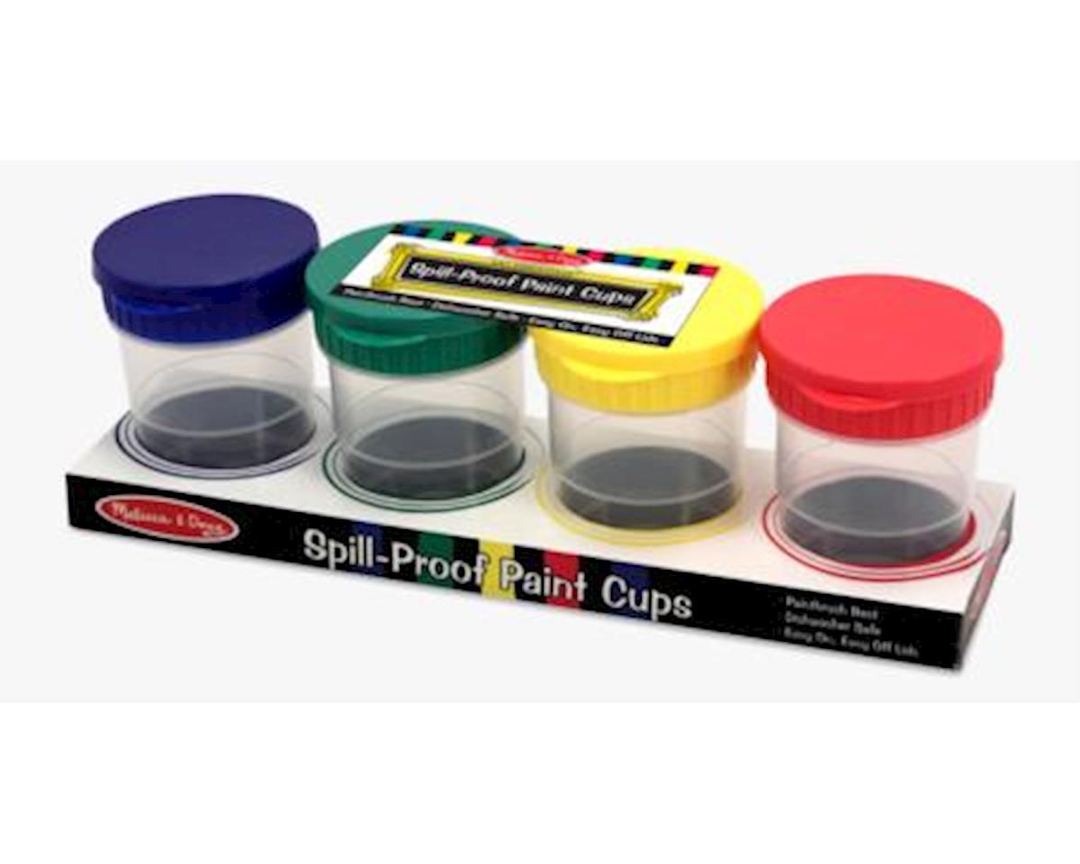 Melissa & Doug  Paint Cups Set 4Pc