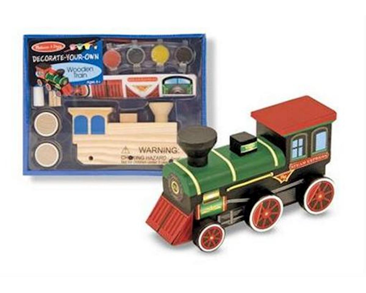 Melissa & Doug  Decorate Your Own Train