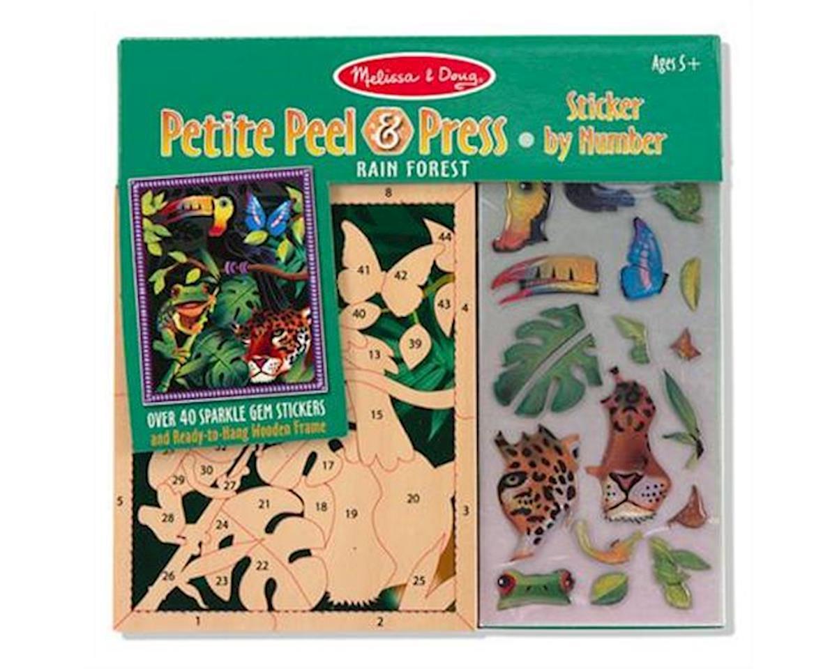 Melissa & Doug  Mini Rain Forest, Peel & Press