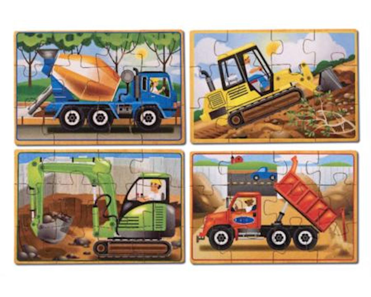 Melissa & Doug Construction Puzzles In A Box