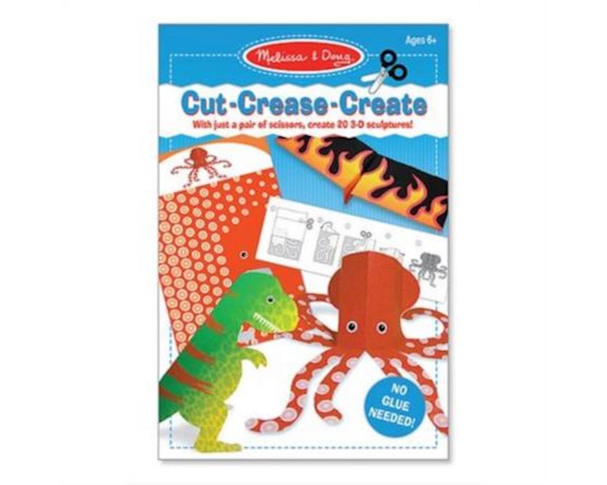 Melissa & Doug  Cut Crease Create, Blue
