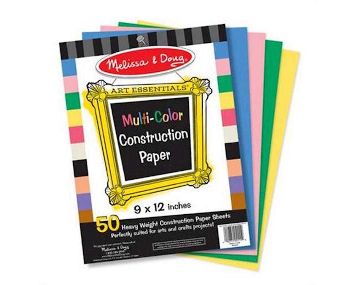 Melissa & Doug  Multicolor Construction Paper