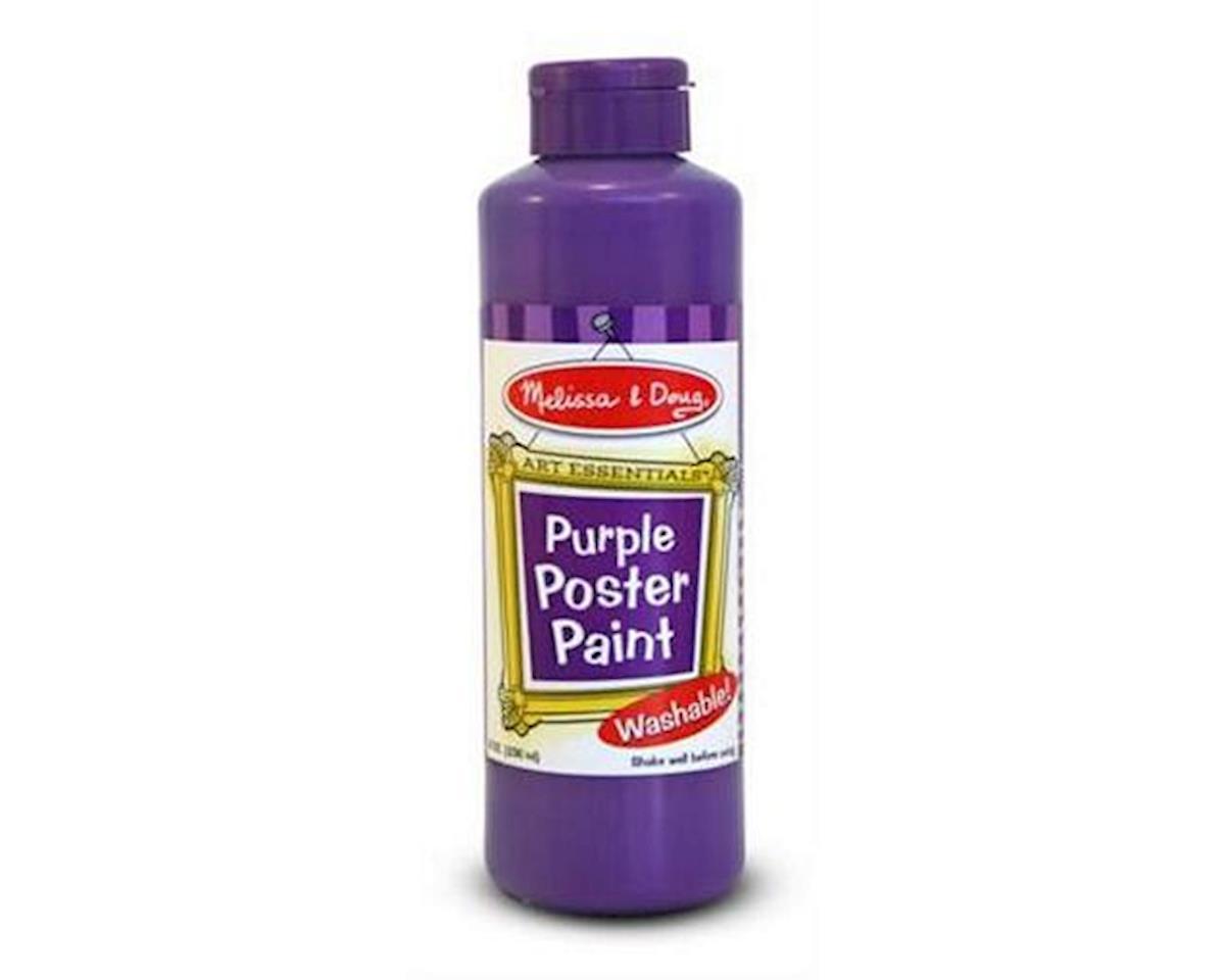 Melissa & Doug  Purple Poster Paint Bottle