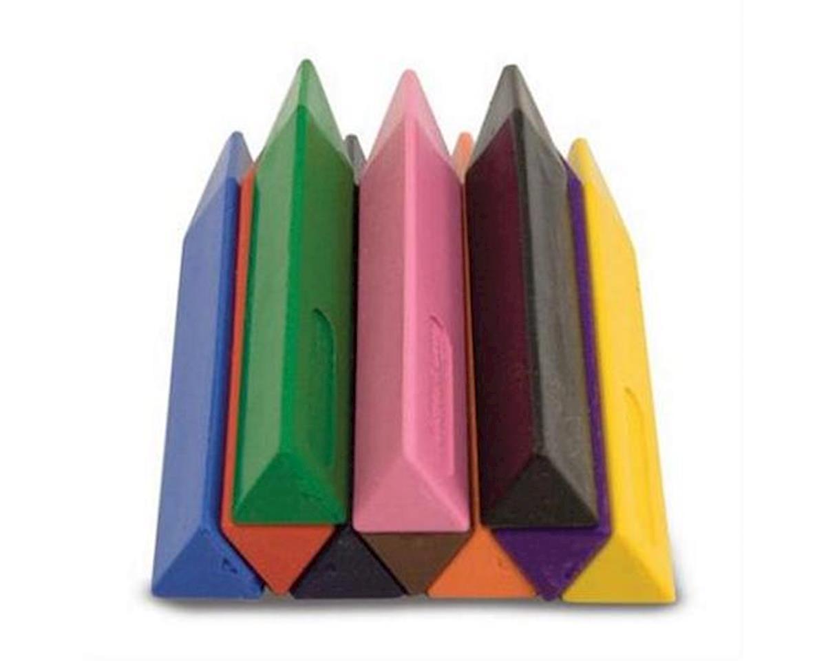 Melissa & Doug  Jumbo Triangular Crayons 10Pc