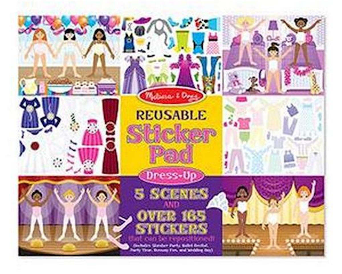 Melissa & Doug  Reusable Sticker Pad Dress-Up