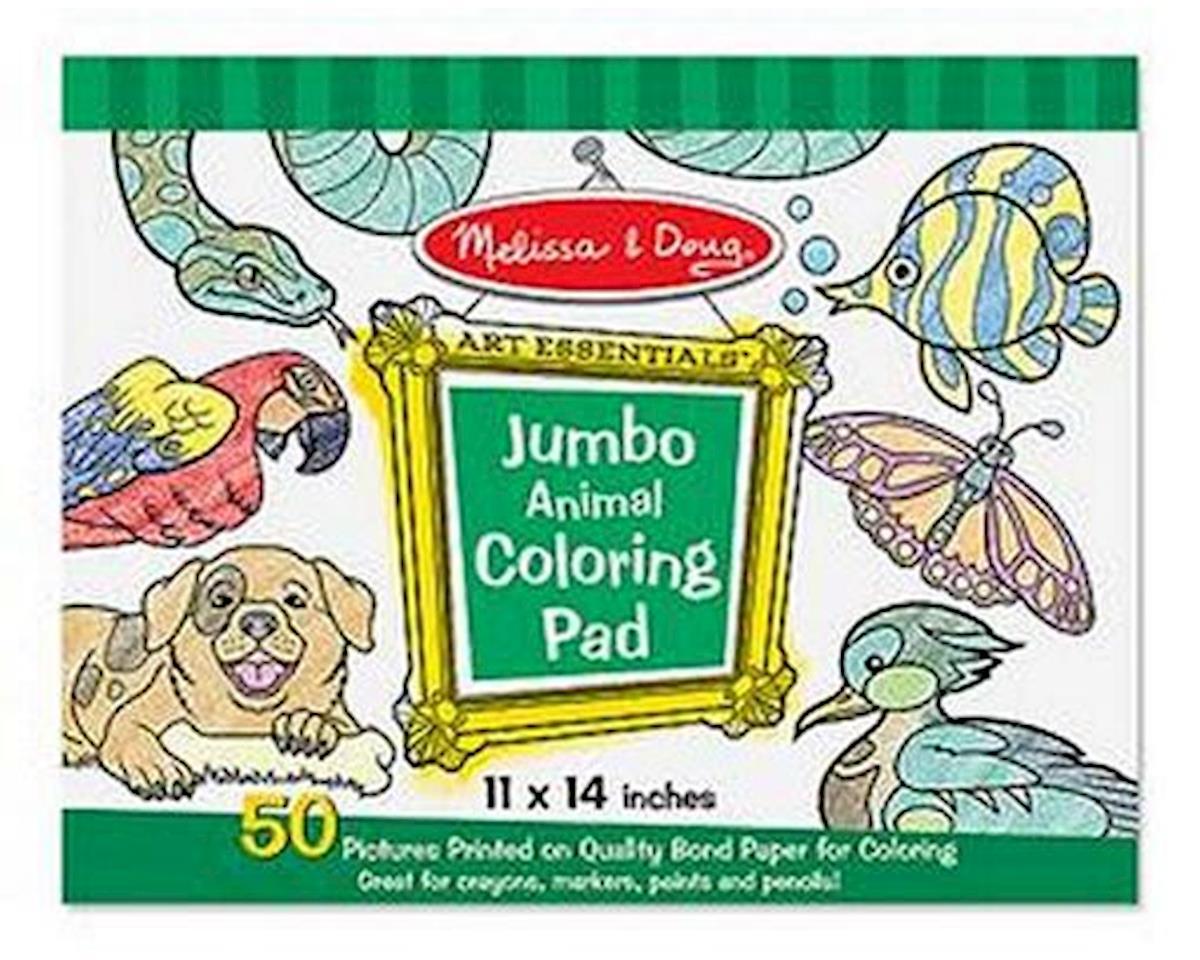Melissa & Doug  Jumbo Coloring Pad Animals