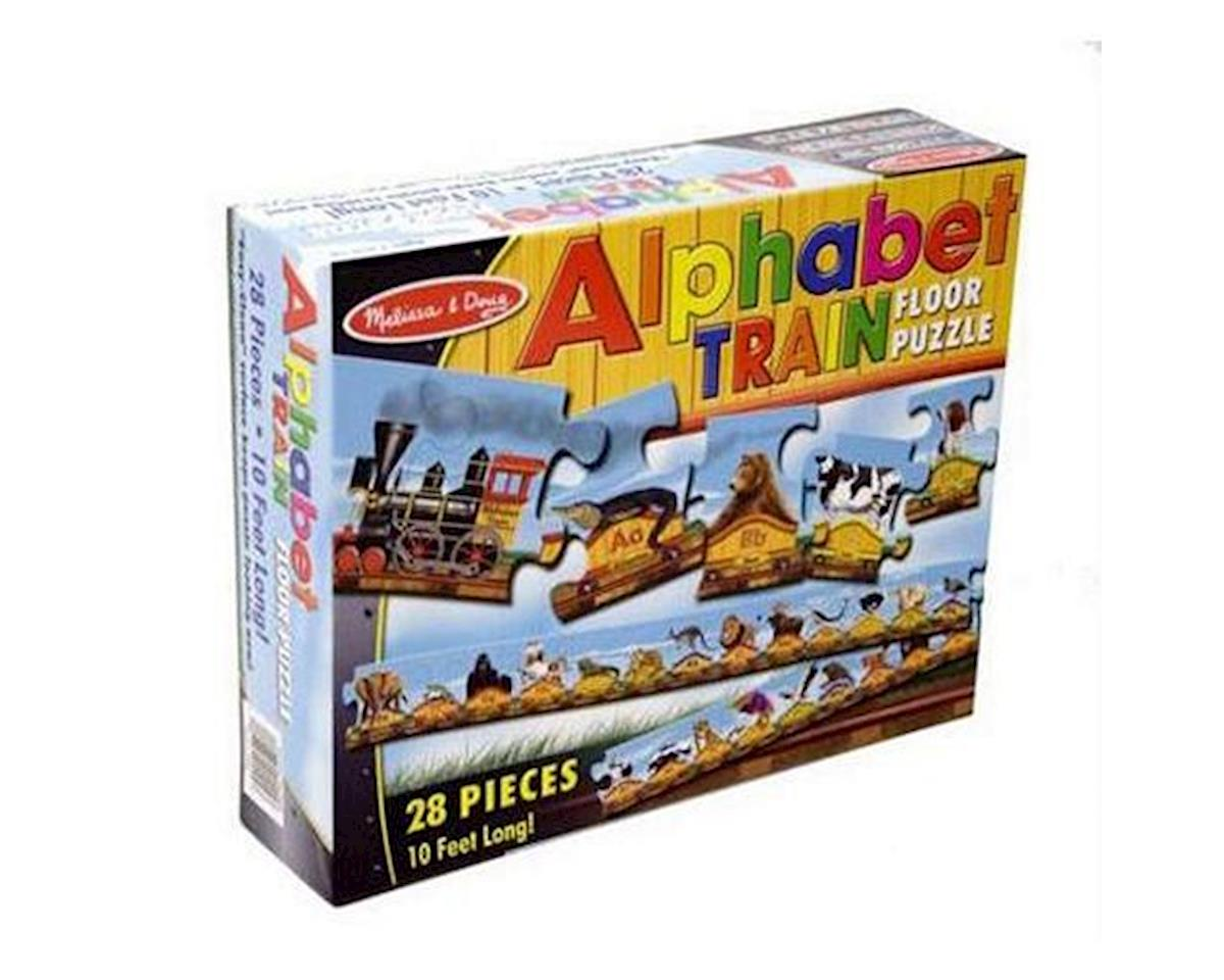 Melissa & Doug  Alphabet Train 27Pc Floor Puzzle