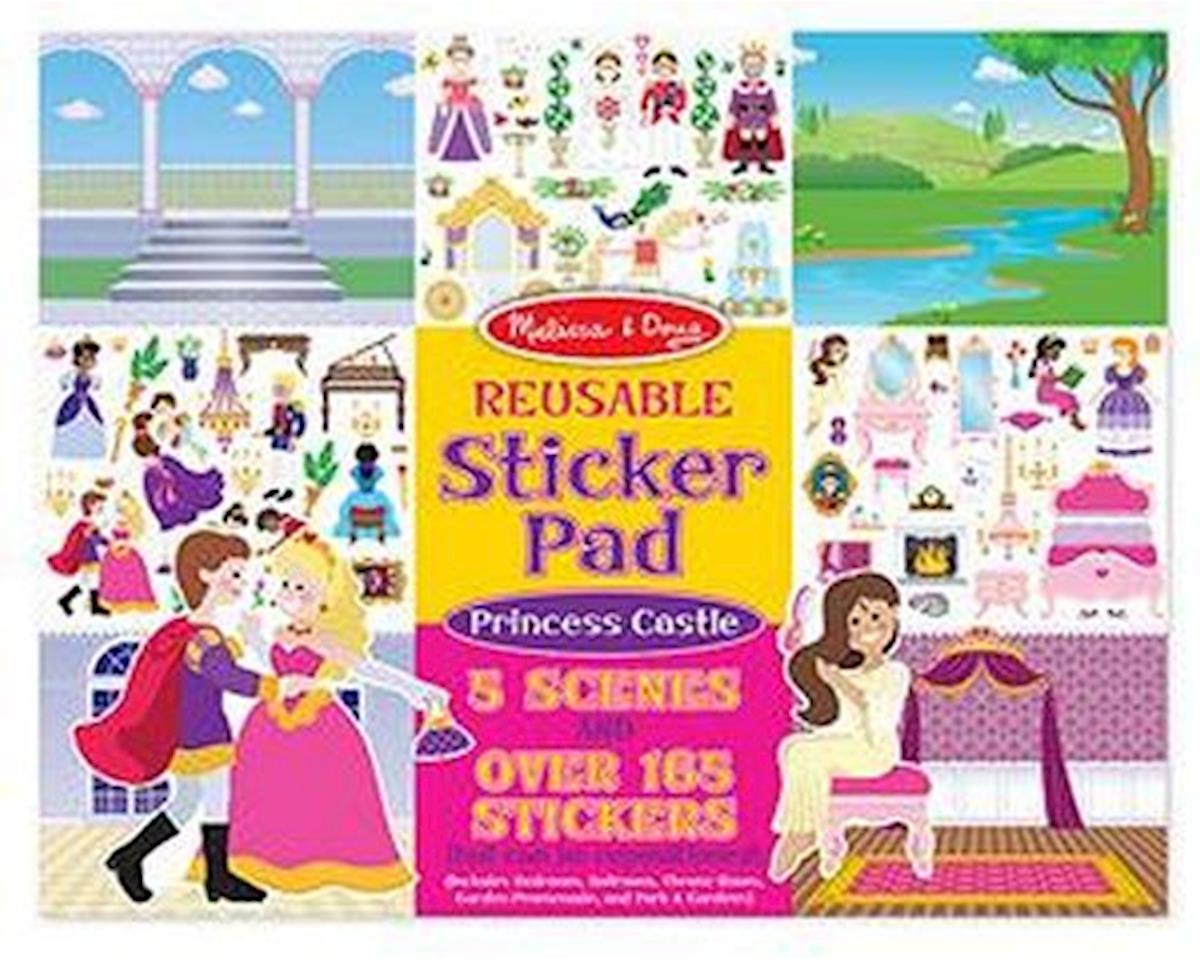Melissa & Doug  Reusable Sticker Pad Princess Cast
