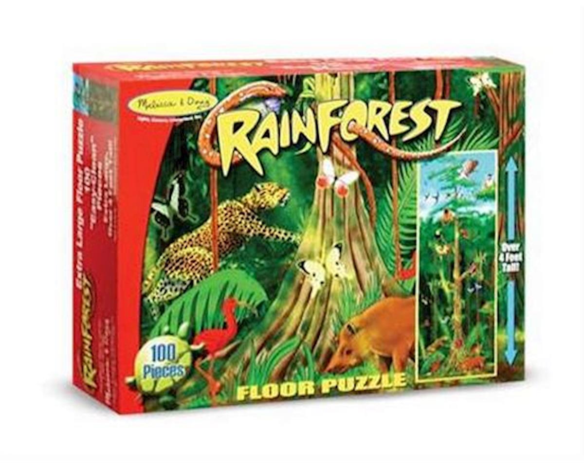 Melissa & Doug Rainforest 100Pc Floor Puzzle