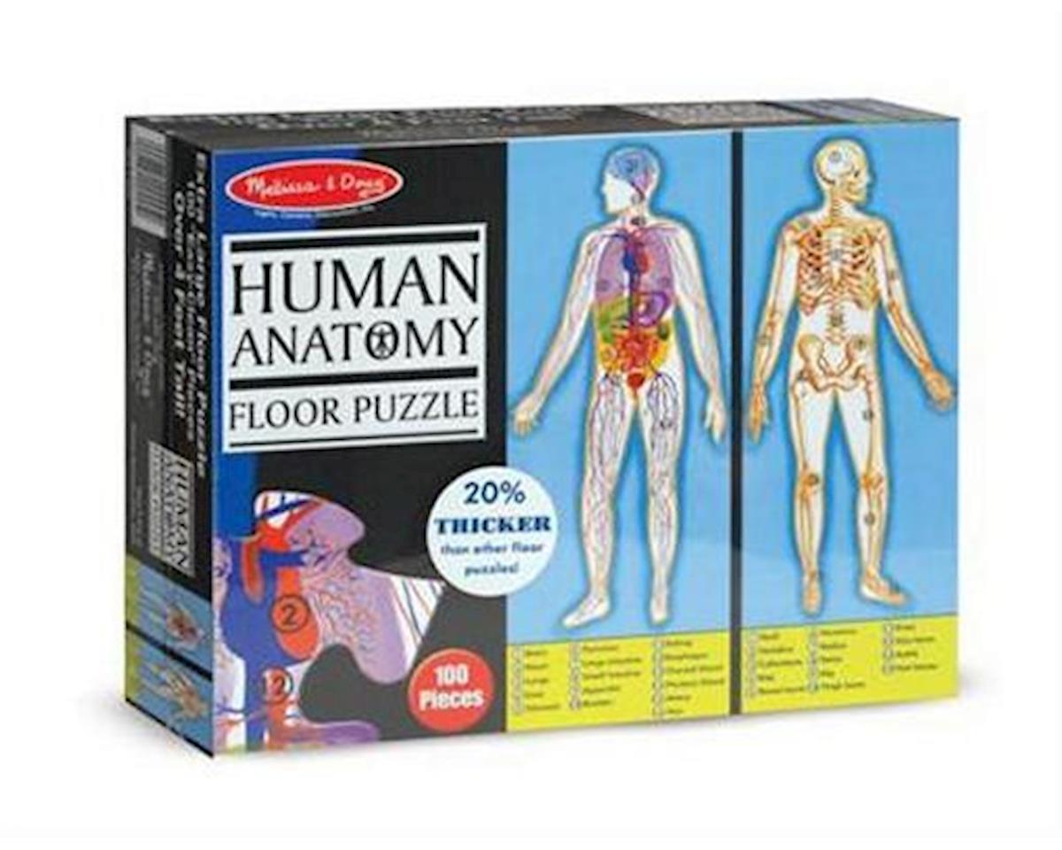 Melissa & Doug Human Anatomy 100Pc Floor Puzzle