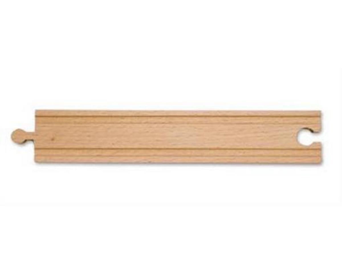 "Melissa & Doug  8.5"" Wooden Straight Track"