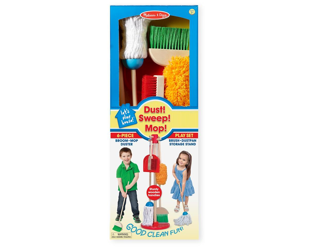 Melissa & Doug Lets Play House! Dust Sweep & Mop