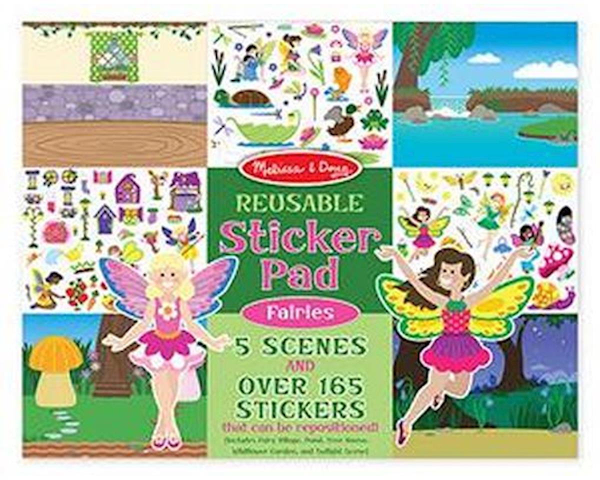 Melissa & Doug  Reusable Sticker Pad Fairies
