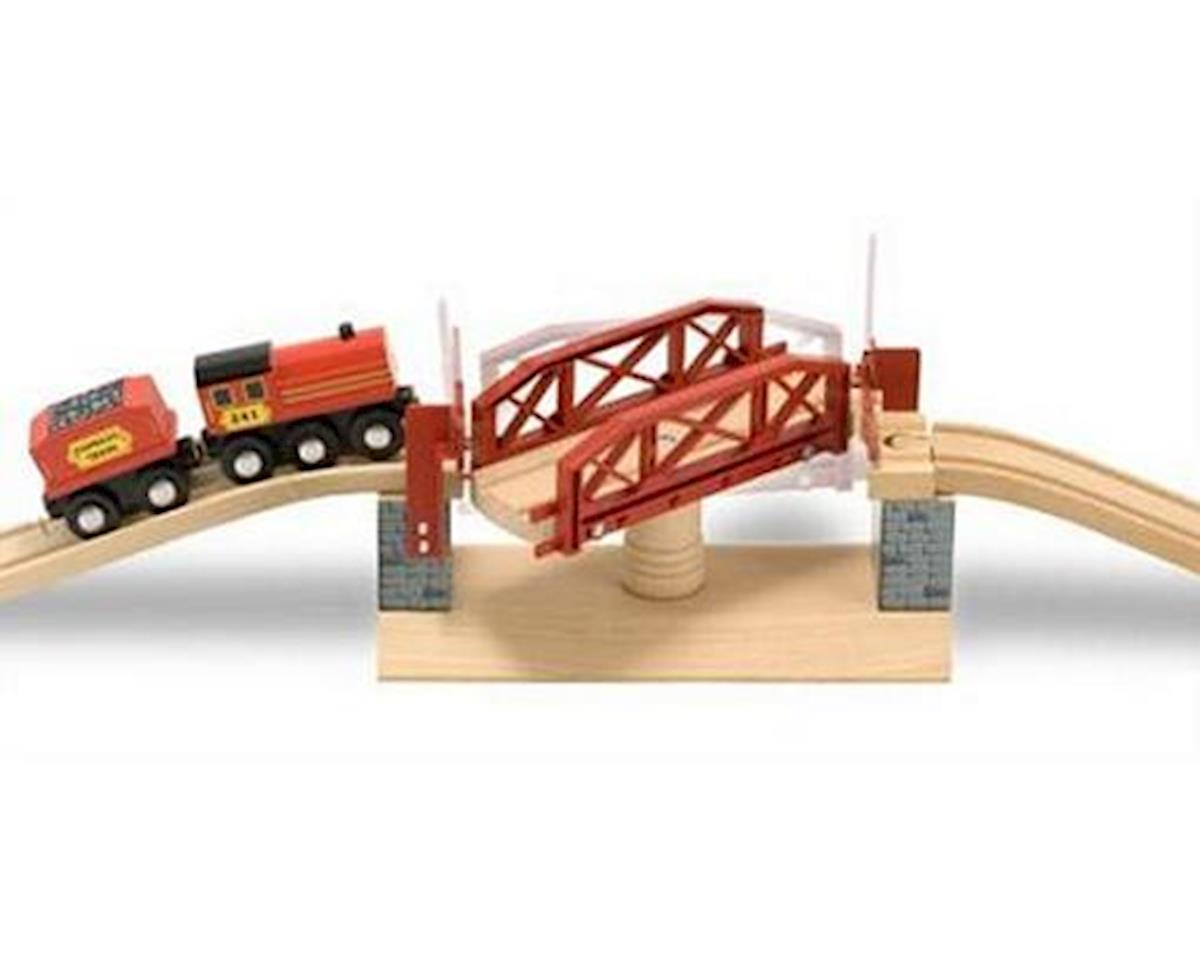Melissa & Doug  Swivel Bridge Train Set