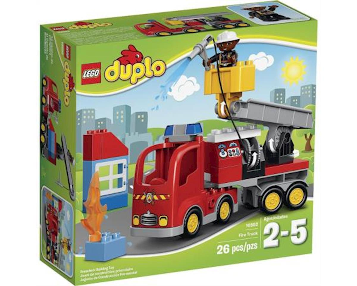 DUPLO Town 10592 Fire Truck Building Kit by Lego