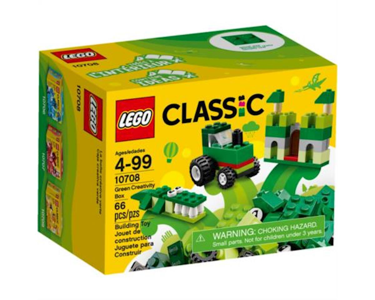 Classic Green Creativity Box 10708 Building Kit by Lego