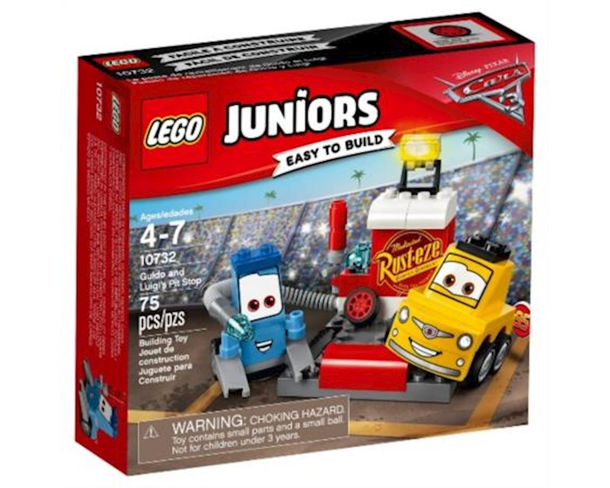 Lego Jrs Cars 3 Guido & Luigi's Pit Stop