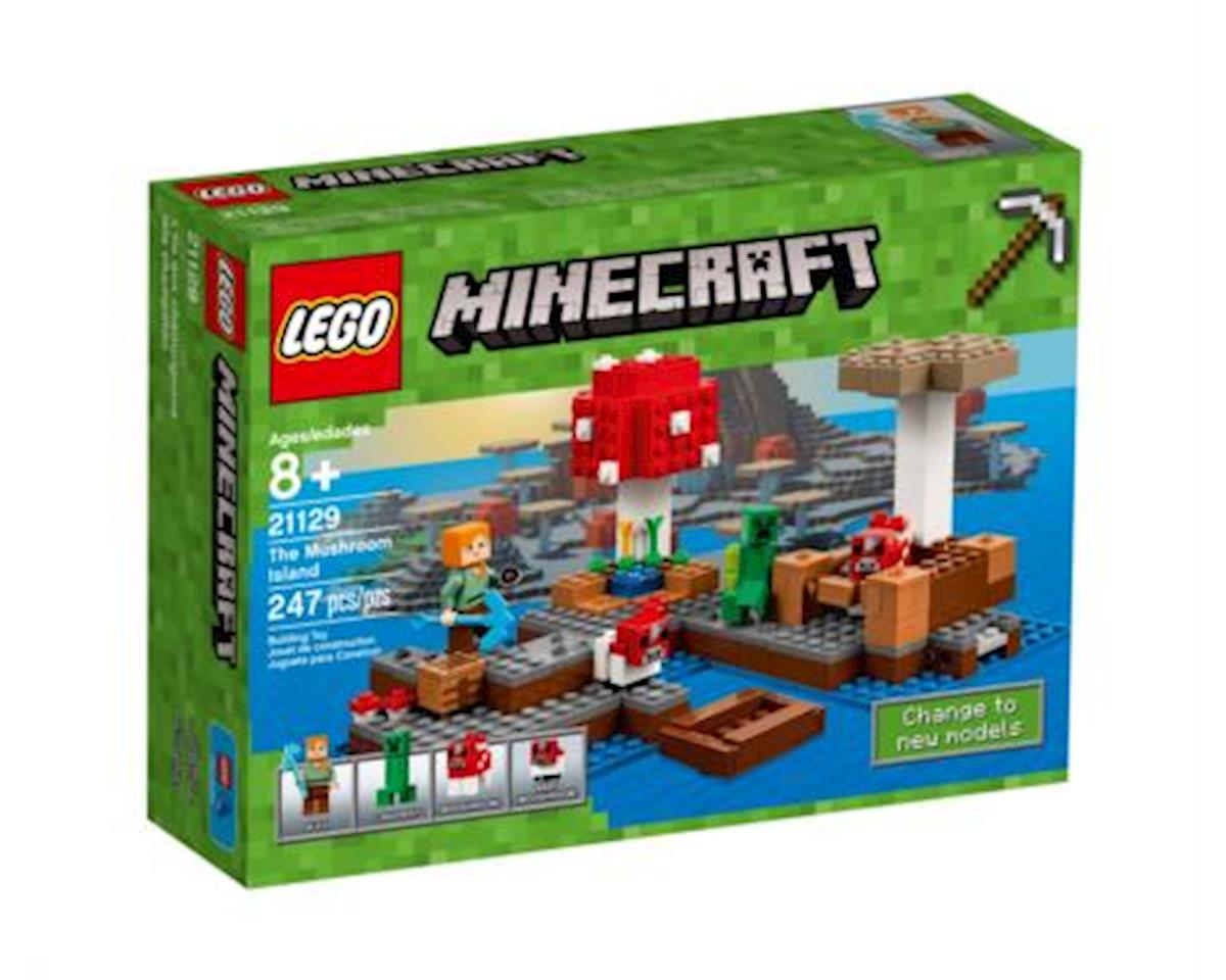Lego Minecraft The Mushroom Island 21129 Building Kit (247 Pieces)
