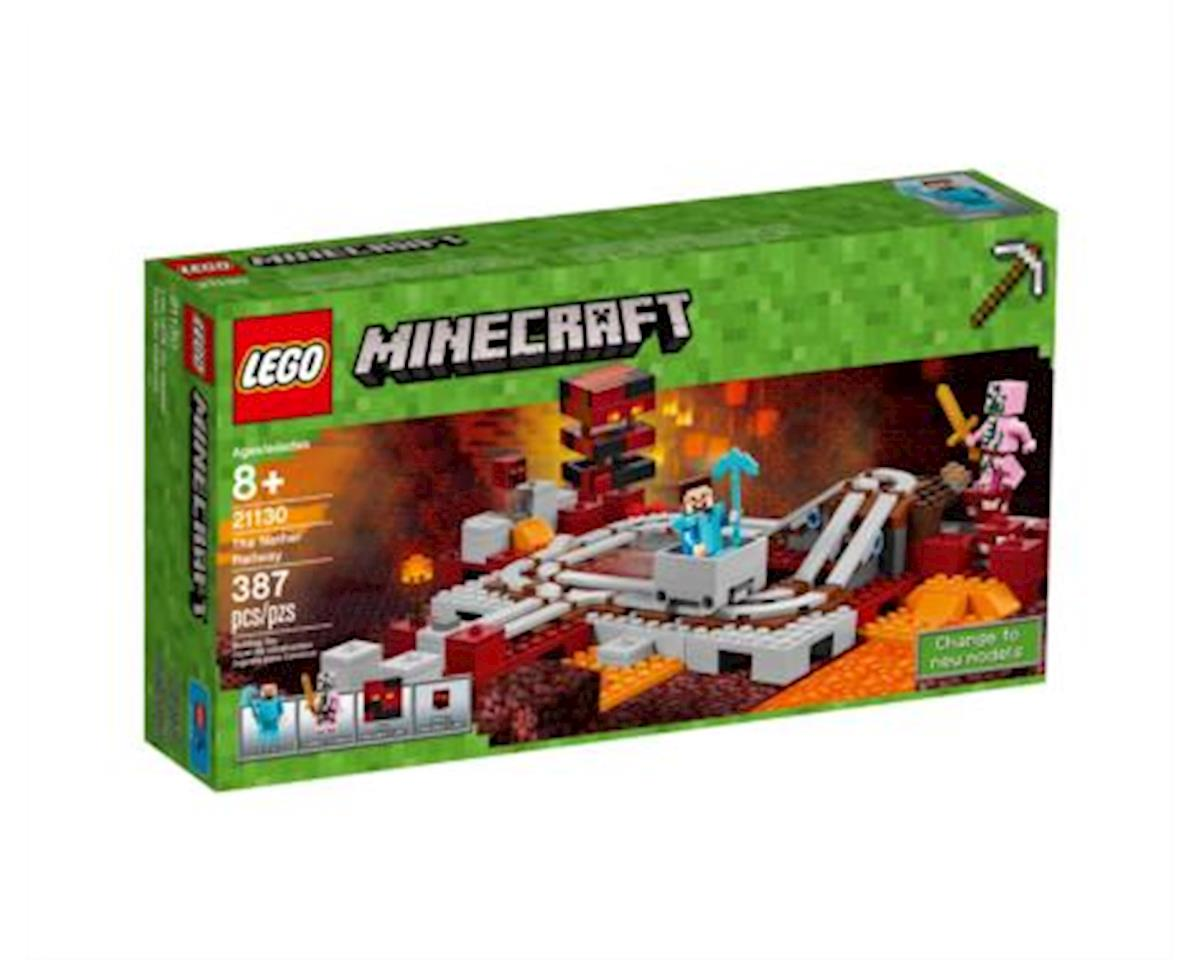 LEGO Minecraft The Nether Railway 21130 Building Kit (387 Pieces)