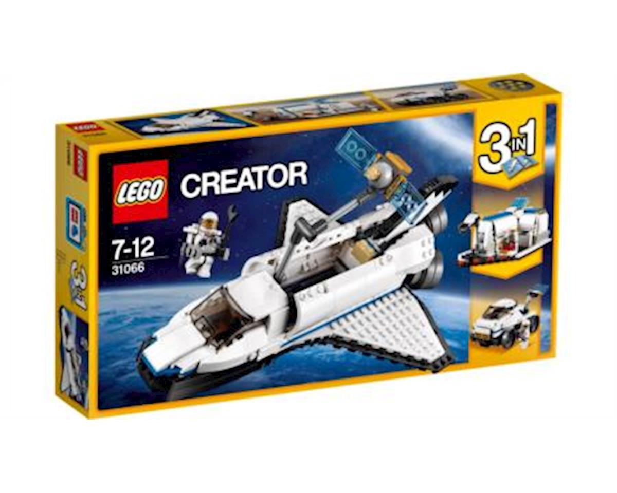 Creator Space Shuttle Explorer 31066 Building Kit (285 Piece)