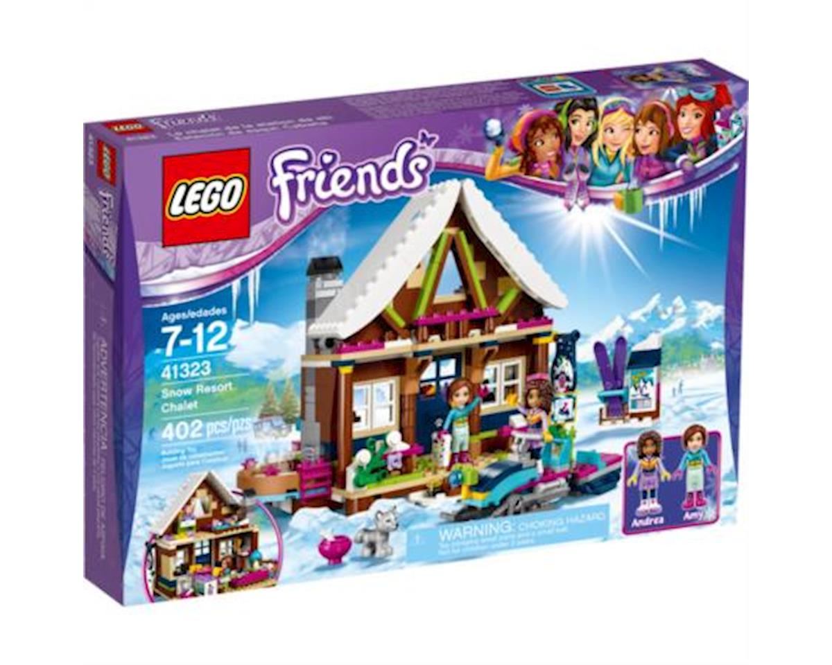 Friends Snow Resort Chalet 41323 Building Kit (402 Piece)