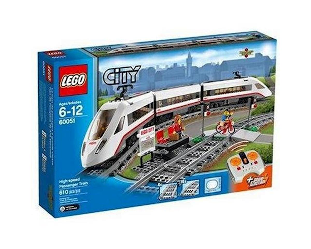 City: High-Speed Passenger Train by Lego