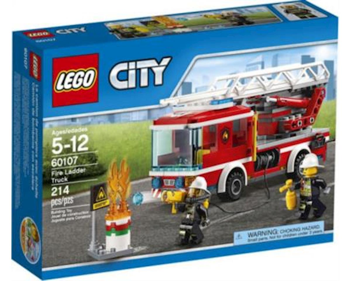 CITY Fire Ladder Truck 60107 by Lego