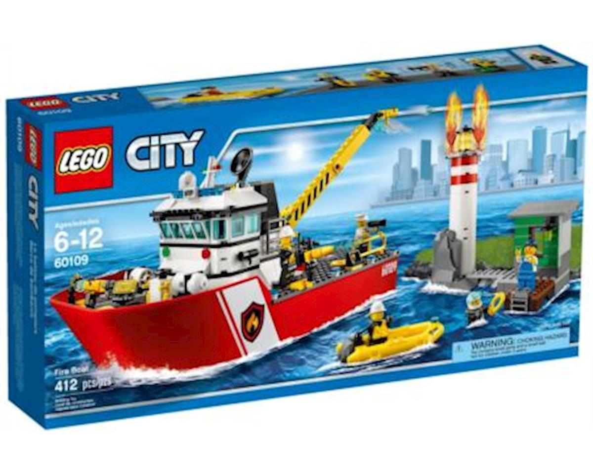 City: Fire Boat