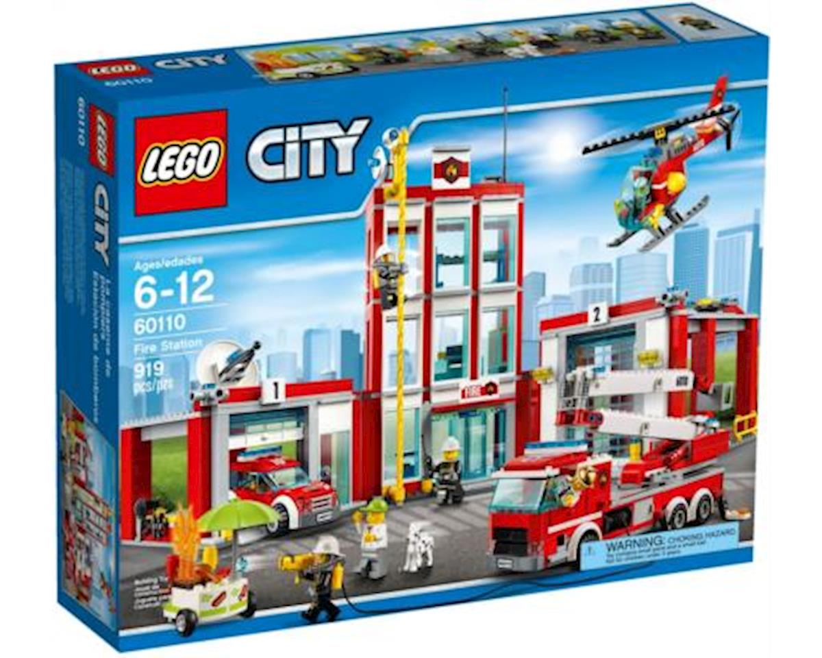 City: Fire Station by Lego