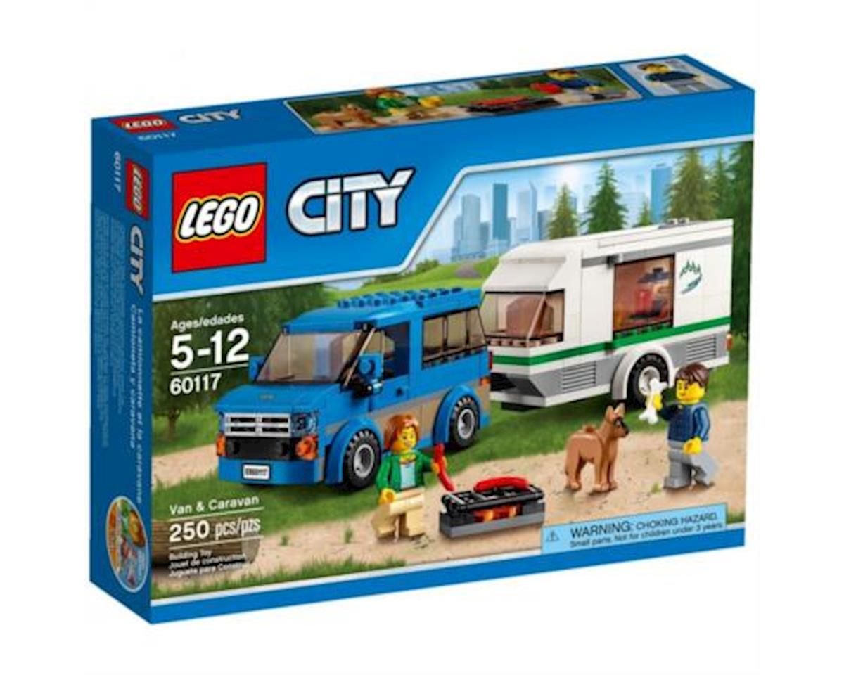 City Van & Caravan by Lego