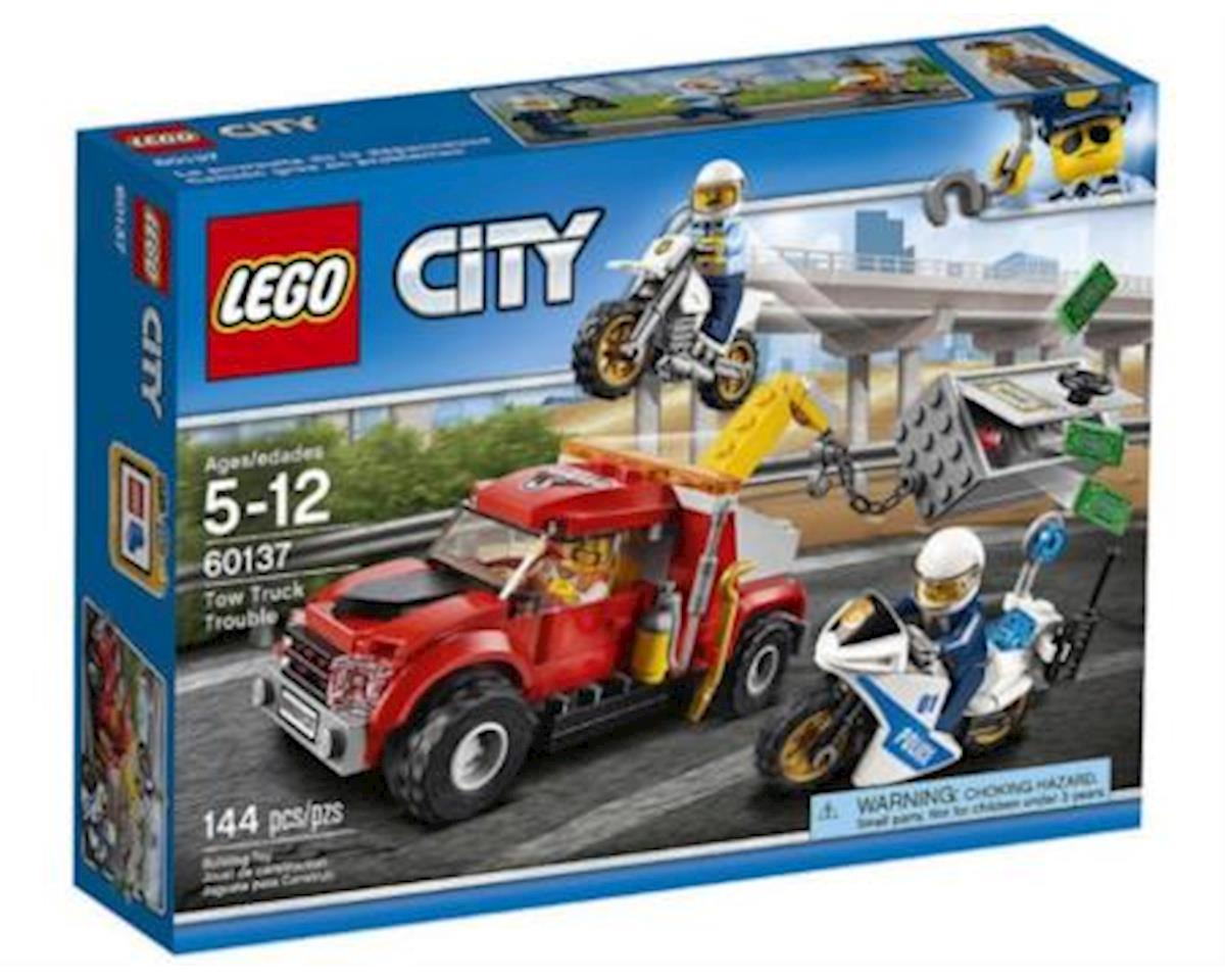 Lego City Tow Truck Trouble