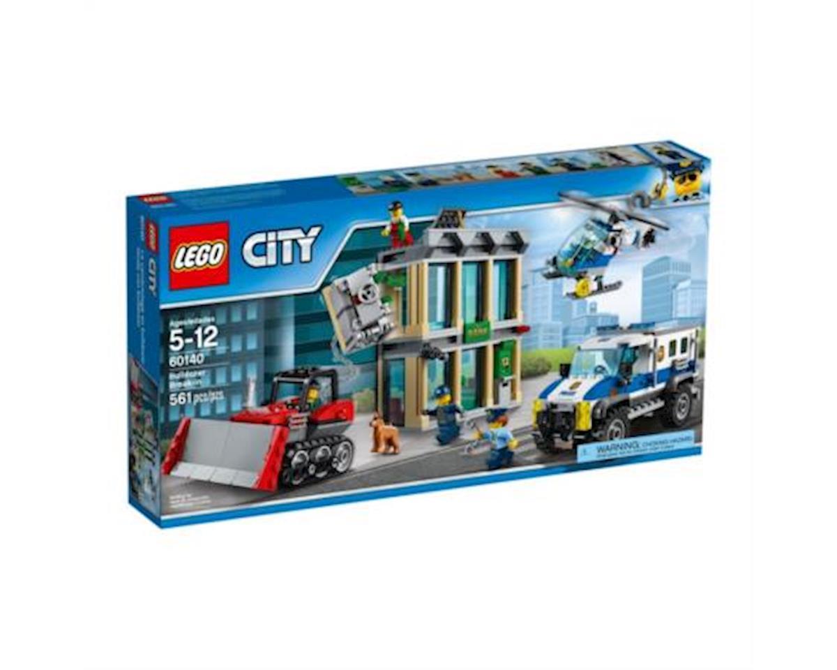 City Bulldozer Break-In by Lego