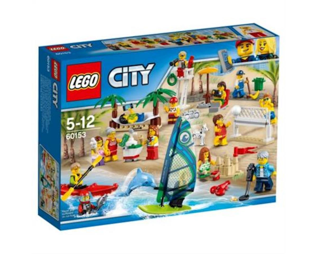 City Town People Pack – Fun At the Beach 60153 Building Kit (169 Piece)