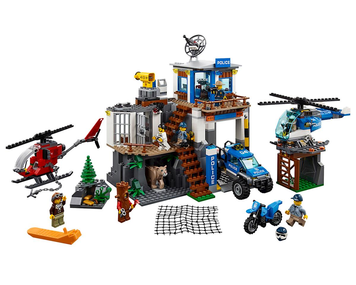 LEGO Mountain Police Headquaters