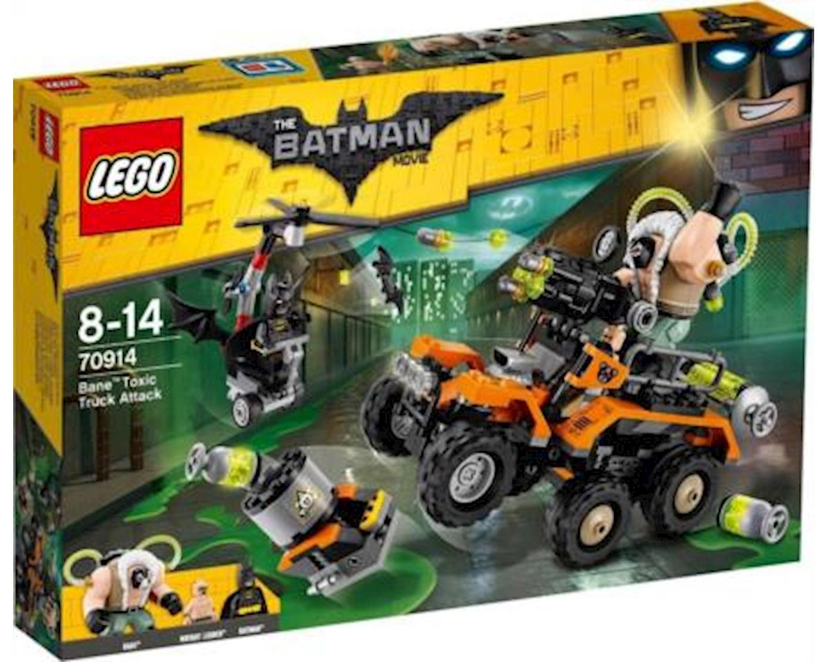 Lego Batman Movie Bane Toxictruck Attack