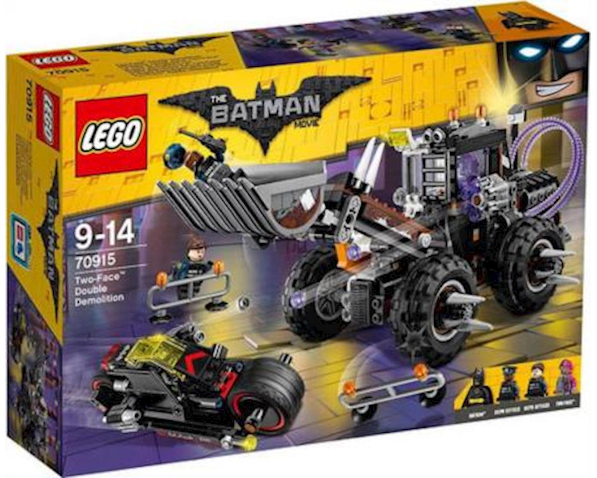Lego Batman Movie Two-Face Double Demo