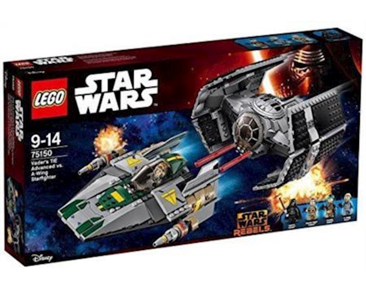 Lego Star Wars Tie Advanced Vs. A-Wing