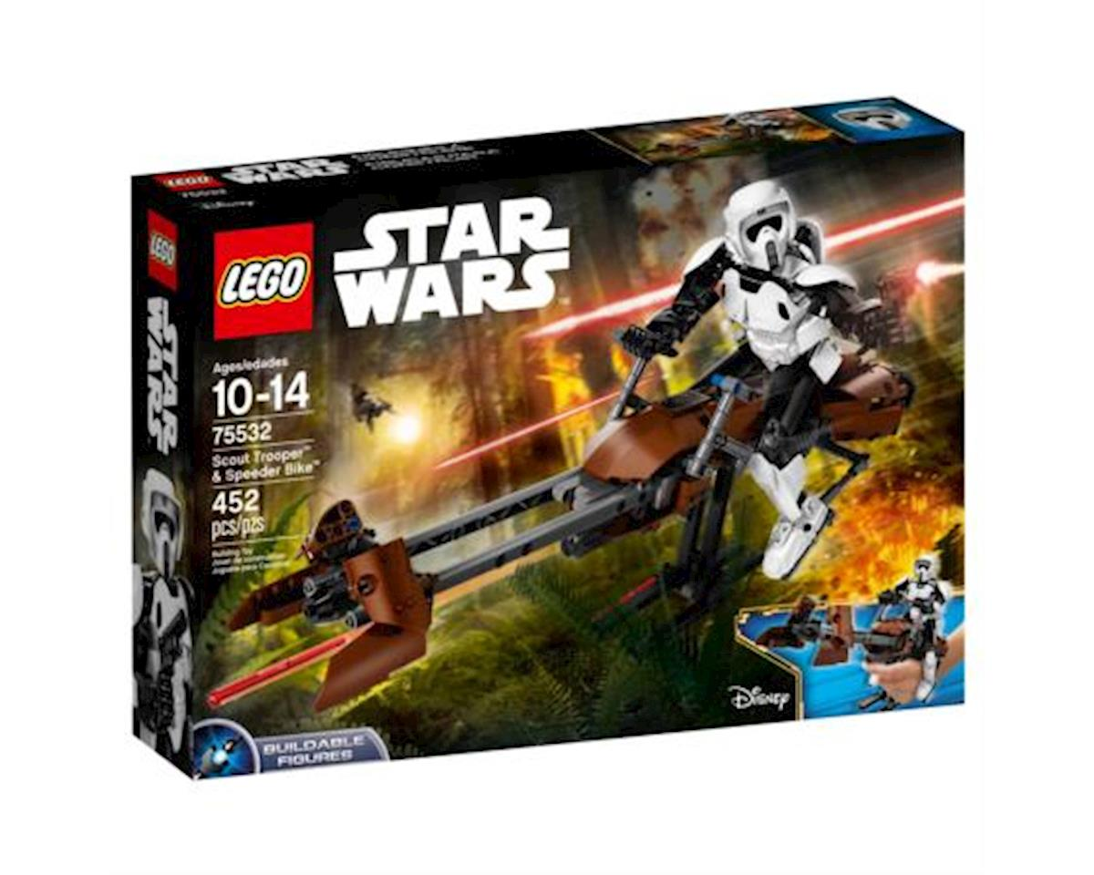 Lego Constraction Scout Trooper & Speederbike