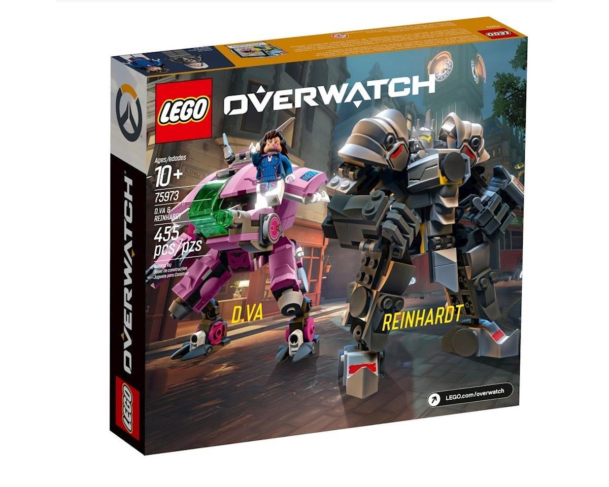 Image 2 for LEGO Overwatch D.VA & Reinhardt