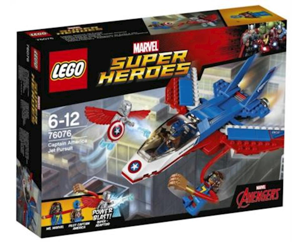 Lego Marvel Capt America Jet Pursuit