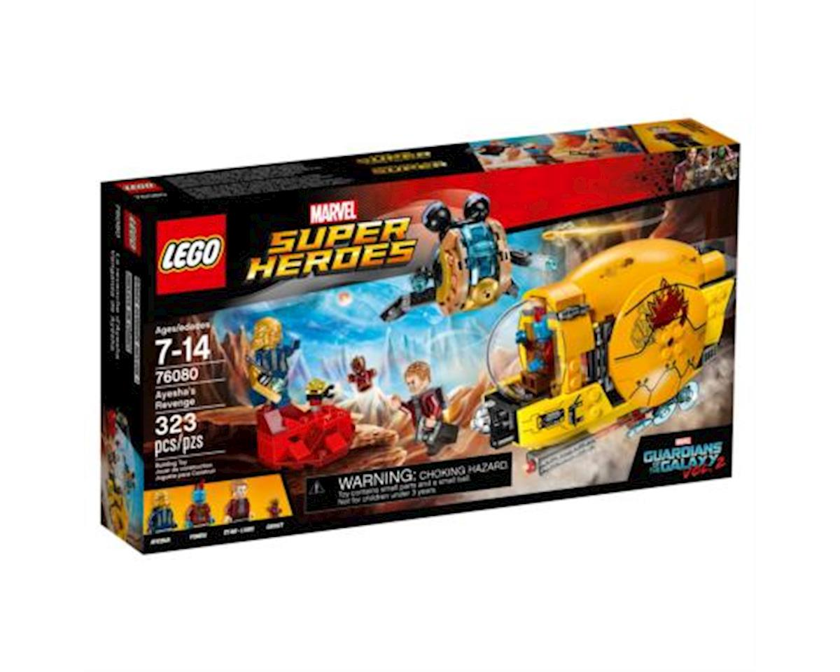 Lego Super Heroes Guardians Of The Galaxy Ayesha's Revenge 76080 Building Kit (323 Pieces)