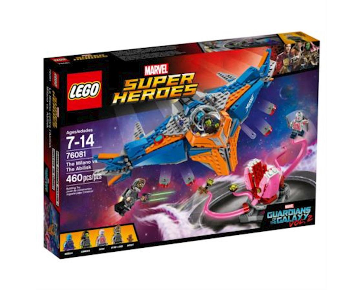 LEGO Super Heroes Guardians Of The Galaxy The Milano Vs. The Abilisk 76081 Building Kit (460 Pie