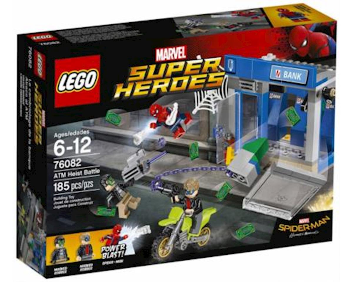 Spider-Man Atm Heist Battle by Lego